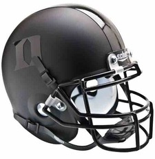 Duke Blue Devils Black Schutt Authentic Mini Helmet