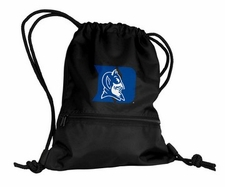 Duke Blue Devils Black String Pack / Backpack