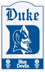 Duke Blue Devils Nostalgic Metal Sign