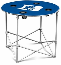 Duke Blue Devils Round Tailgate Table
