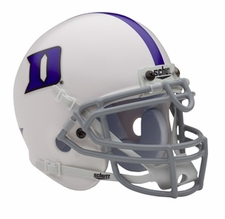 Duke Blue Devils Schutt Authentic Mini Helmet