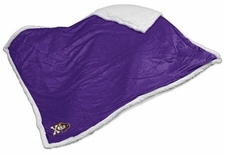 East Carolina Pirates Jolly Roger Sherpa Throw