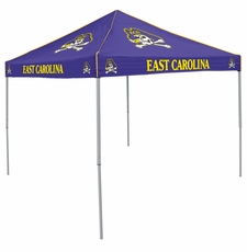 East Carolina Pirates Purple Logo Canopy Tailgate Tent