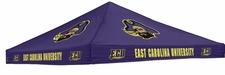 East Carolina Pirates Purple Logo Tent Replacement Canopy