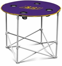 East Carolina Pirates Round Tailgate Table