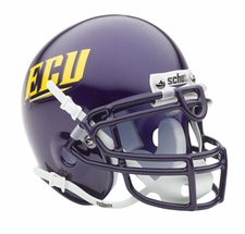 East Carolina Pirates Schutt Authentic Mini Helmet