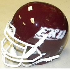 Eastern Kentucky Colonels Schutt Authentic Mini Helmet