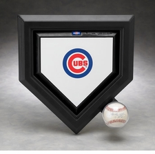 Executive Mini Homeplate and Ball Display Case