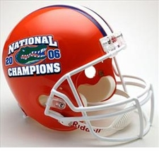 Florida Gators 2006 National Champion Riddell Deluxe Replica Helmet
