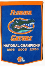 Florida Gators 24 x 36 Football Dynasty Wool Banner