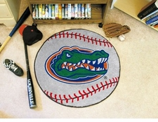 "Florida Gators 27"" Baseball Floor Mat"