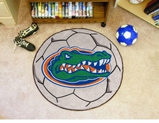 "Florida Gators 27"" Soccer Ball Floor Mat"