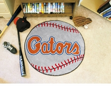 "Florida Gators ""Gators"" 27"" Baseball Floor Mat"