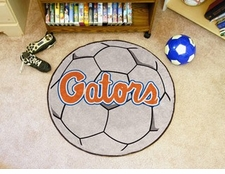"Florida Gators ""Gators"" 27"" Soccer Ball Floor Mat"