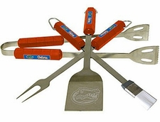 Florida Gators Grill BBQ Utensil Set