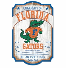 Florida Gators Wood Sign - College Vault