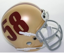 Florida State Seminoles 1958 Schutt Throwback Mini Helmet