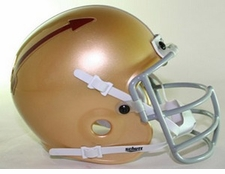 Florida State Seminoles 1962 War Party Schutt Throwback Mini Helmet
