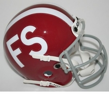 Florida State Seminoles 1968 Schutt Throwback Mini Helmet