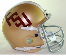 Florida State Seminoles 1975 FSU Schutt Throwback Mini Helmet