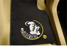 Florida State Seminoles 2-Piece Carpeted Car Mats Front Set