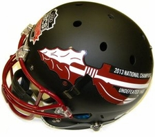 Florida State Seminoles 2013 National Champions 14-0 Black Schutt Full Size Replica XP Helmet