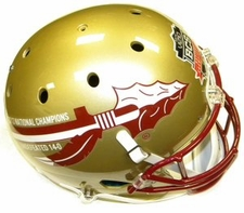 Florida State Seminoles 2013 National Champions 14-0 Schutt Full Size Replica XP Helmet