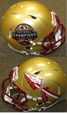 Florida State Seminoles 2013 National Champions Riddell Revolution Speed Authentic Helmet