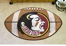 "Florida State Seminoles 22""x35"" Logo Football Floor Mat"
