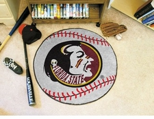"Florida State Seminoles 27"" Baseball Floor Mat"