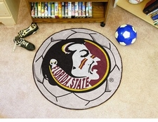"Florida State Seminoles 27"" Soccer Ball Floor Mat"
