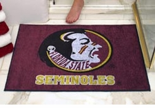 "Florida State Seminoles 34""x45"" Logo All-Star Floor Mat"