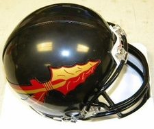 Florida State Seminoles Black Riddell Replica Mini Helmet