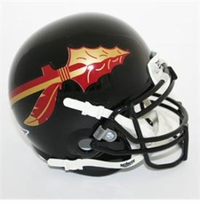 Florida State Seminoles Black Schutt Authentic Mini Helmet