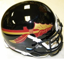 Florida State Seminoles Black Schutt XP Authentic Mini Helmet