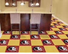 Florida State Seminoles Carpet Tiles - 20 18x18 Square Tiles