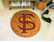 "Florida State Seminoles ""FS"" 27"" Basketball Floor Mat"
