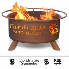 Florida State Seminoles Outdoor Fire Pit