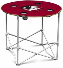 Florida State Seminoles Round Tailgate Table