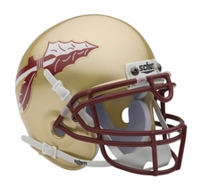 Florida State Seminoles Gold Schutt Authentic Mini Helmet