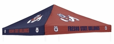 Fresno State Bulldogs Red / Navy Logo Tent Replacement Canopy