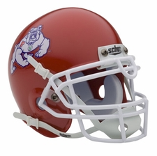 Fresno State Bulldogs Schutt Authentic Mini Helmet