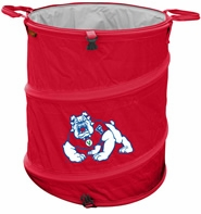 Fresno State Bulldogs Tailgate Trash Can / Cooler / Laundry Hamper