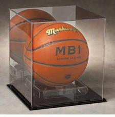 Full Size Basketball, Volleyball, or Soccer Ball Display Case