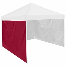 Garnet Tent Side Panel for Logo Canopy Tailgate Tents