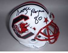 George Rogers Heisman Autographed South Carolina Gamecocks Mini Helmet