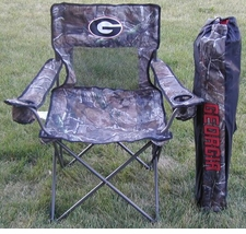 Georgia Bulldogs Realtree Camo Mesh Chair