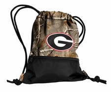 Georgia Bulldogs Realtree Camo String Pack / Backpack