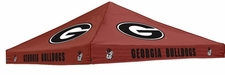 Georgia Bulldogs Red Logo Tent Replacement Canopy