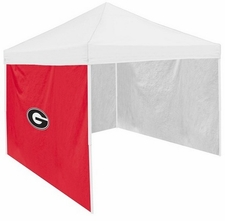 Georgia Bulldogs Red Side Panel for Logo Tents